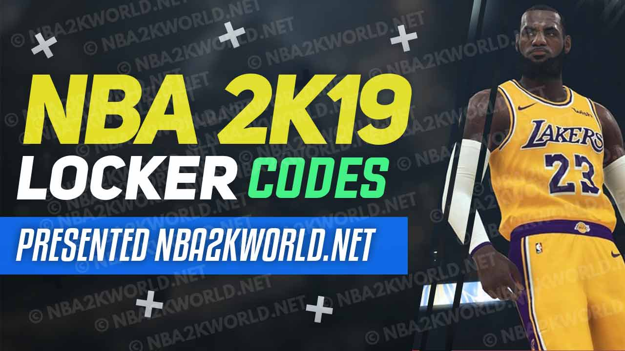 nba 2k19 locker codes