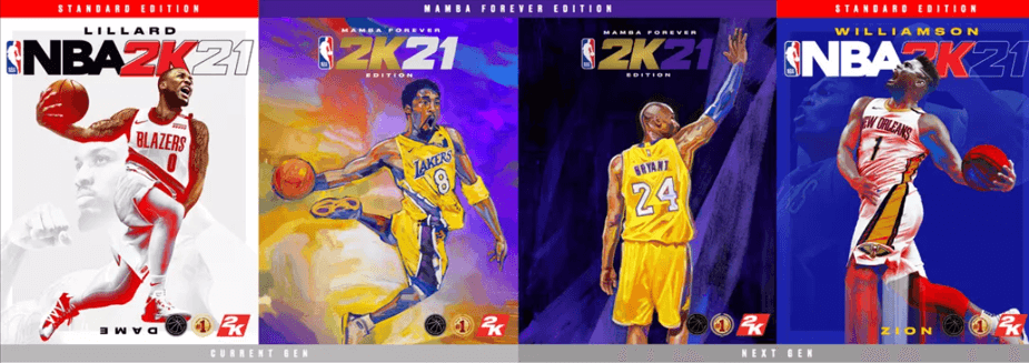 NBA 2K21 Cover Artists